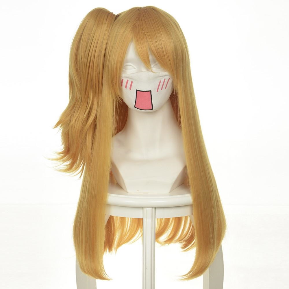 Fairy Tail Lucy Heartphilia Cosplay Wig Earthy Yellow 60Cm