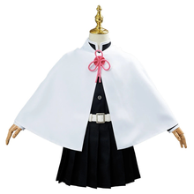 Load image into Gallery viewer, Demon Slayer Tsuyuri Kanawo Uniform Outfit Halloween Carnival Suit Cosplay Costume For Kids Children