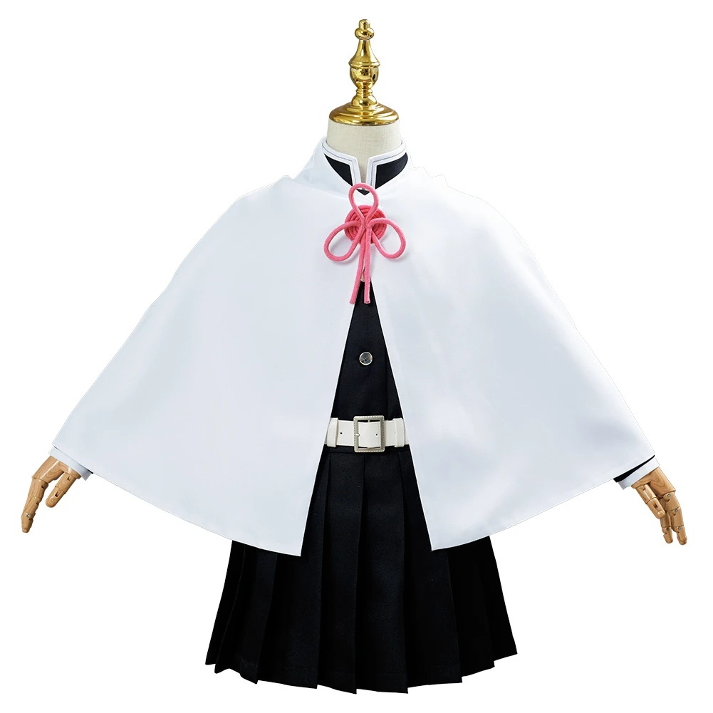 Demon Slayer Tsuyuri Kanawo Uniform Outfit Halloween Carnival Suit Cosplay Costume For Kids Children
