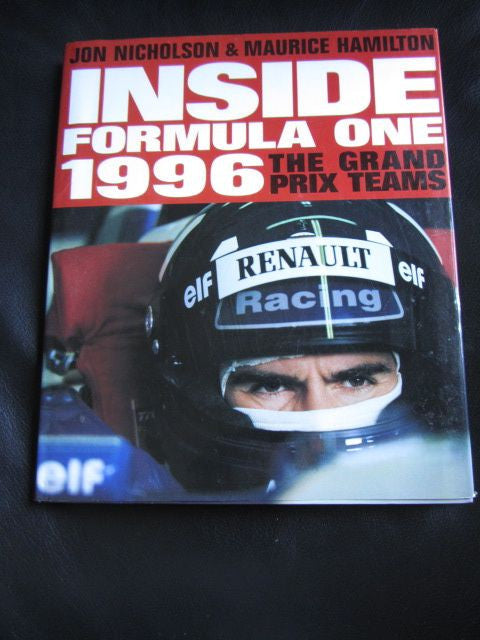INSIDE FORMULA ONE 1996 The Grand Prix Teams [+ newspaper lift-out on death of Ayrton Senna]