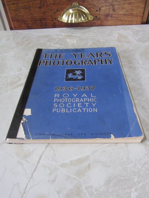 The Year's Photography 1936-1937    1937, Softcover with damage to front jacket