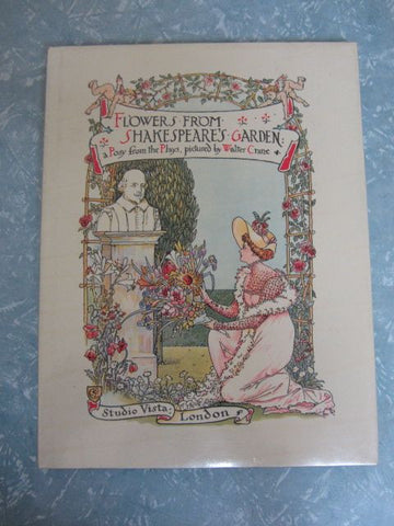 Flowers from Shakespeare's Garden A Posy from the Plays, pictured by Walter Crane