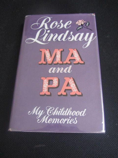 Ma and Pa  My Childhood Memoirs