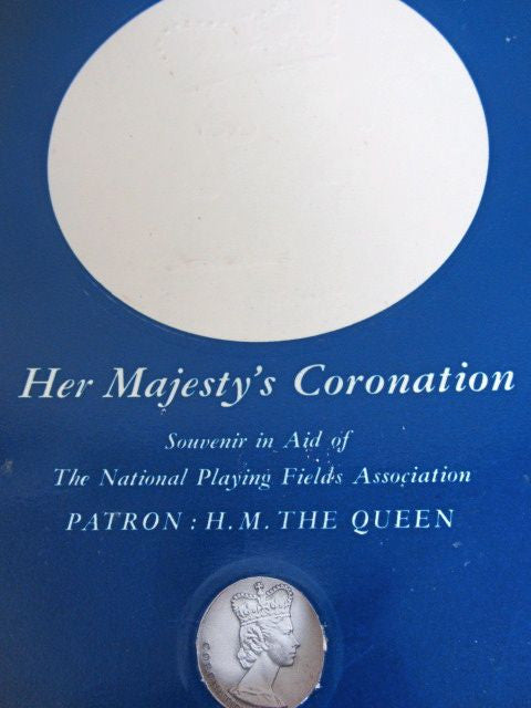 Her Majesty's Coronation  Souvenir in Aid of The National Fields Association