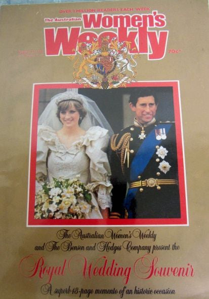 The Australian Women's Weekly Royal Wedding Souvenir