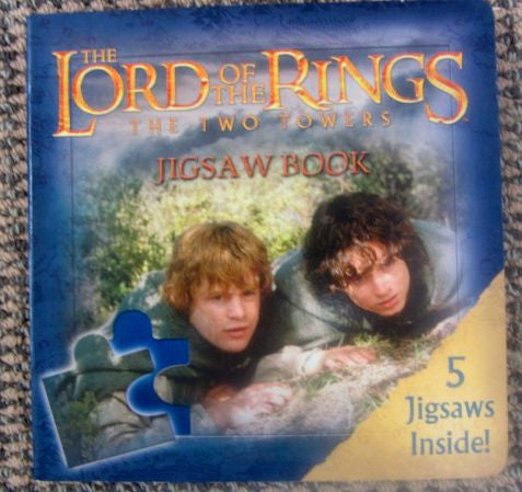 The Lord of the Rings The Two Towers Jigsaw Book, 5 Jigsaws   Fine