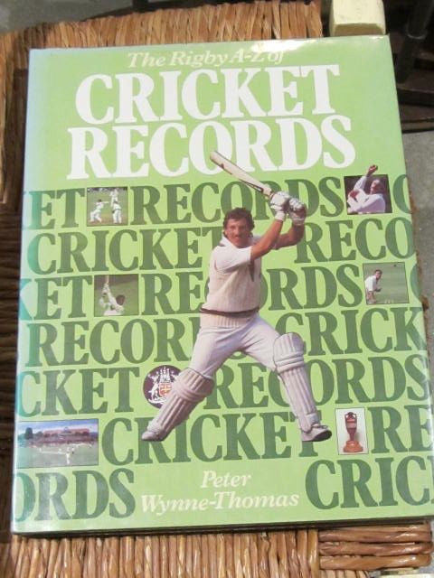 The Rigby A-Z of Cricket Records