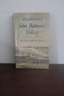 Melbourne John Batman's Village