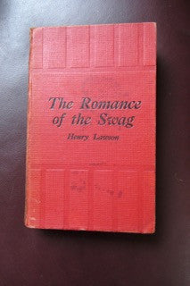 The Romance of the Swag Binding, 1924. Good to Very Good with fading to spine.