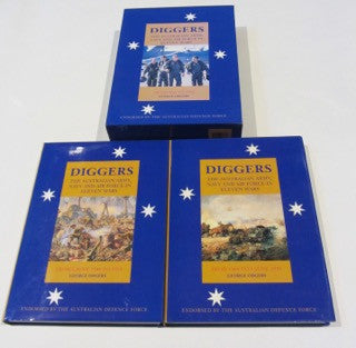 Diggers  The Australian Army, Navy and Air Force in Eleven Wars