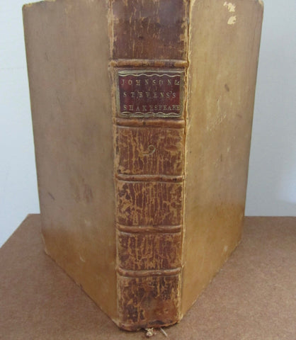 1778 Edition The Plays of William Shakespeare, Volume the Ninth. Containing Troilus and Cressida; Cymbeline; King Lear.
