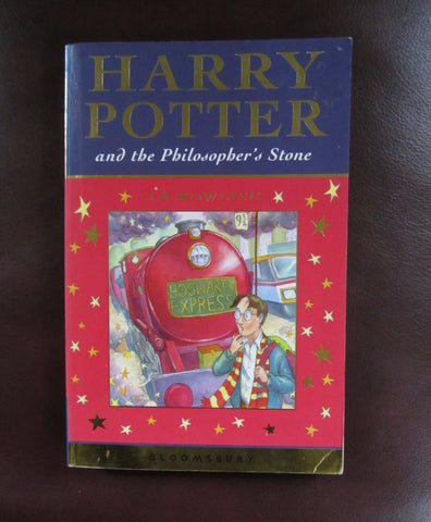 Harry Potter and the Philosopher's Stone   2001 Edition  Good to Very Good with Owner Inscription on inside cover.