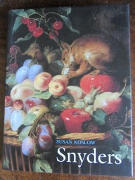 Frans Snyders   The Noble Estate   Art Book   Still-Life and Art Books Seventeenth Still-Life and Animal Paintings in the Southern Netherlands   Animal Art    Fine / Fine  in Near Fine slipcase  2006   Written entirely in English