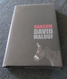 Ransom     David Malouf    Signed by the Author   First Edition     Fine/ Fine   2009
