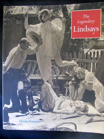The Legendary Lindsays   1995   Art Catalogue    Fine   Softcover