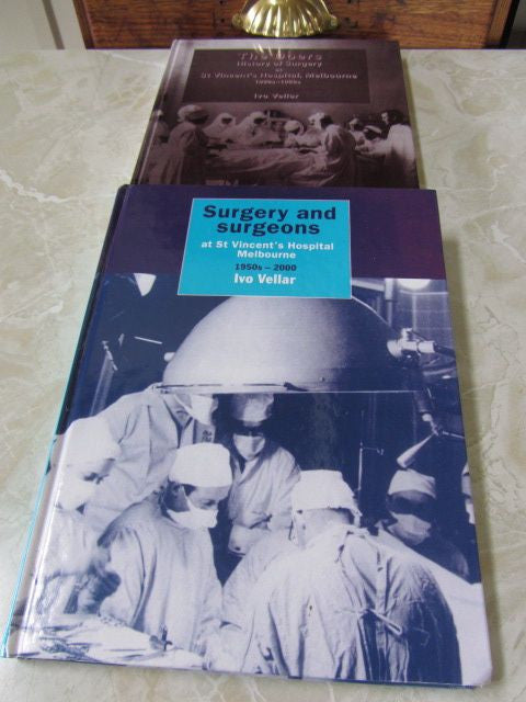 The Doers: The History of Surgery at St Vincent's Hospital 2 Volume Set