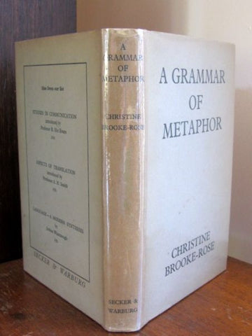A Grammar of Metaphor