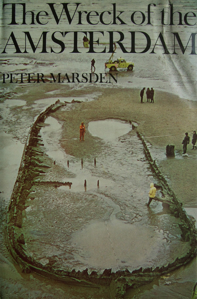 The Wreck of the Amsterdam   1974, First Edition  Fine  / Near Fine