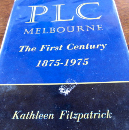 PLC  Melbourne  The First Century  1875 - 1975