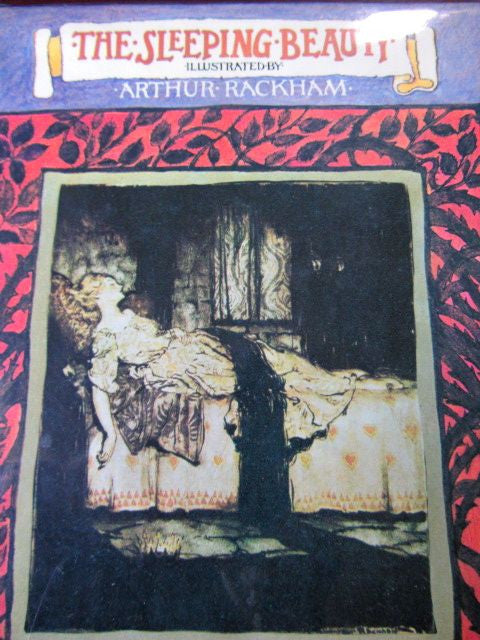 The Sleeping Beauty  illustrated by Arthur Rackham   Very Good to Near Binding in Very Good to Near Fine Dust Jacket