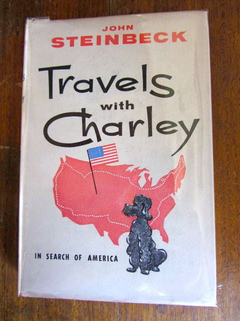Travels with Charley  In Search of America    1964 First Australian Edition  Readers Book Club    Very Good / Good