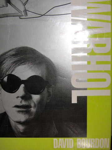 Warhol by David Bourdon    1989, First Edition      Fine binding in near fine dust jacket