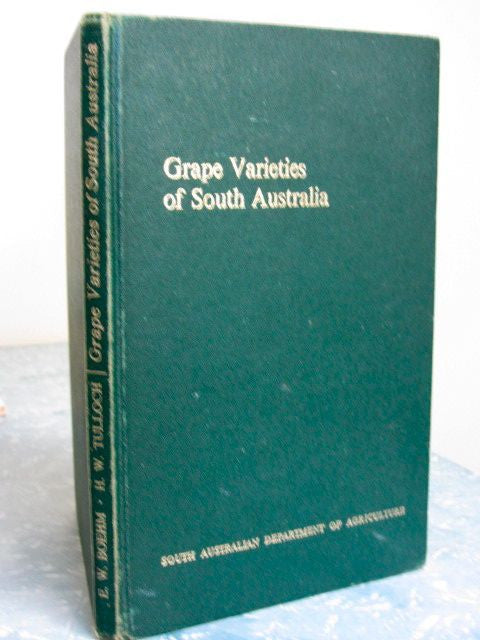 Grape Varieties of South Australia