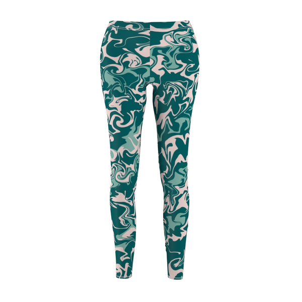 Ocean Glitch Leggings
