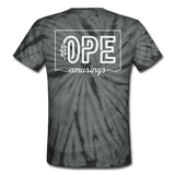 OPE | Shop Small Tie Dye Tee - spider black