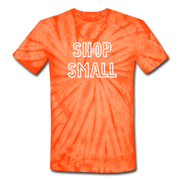 OPE | Shop Small Tie Dye Tee - spider orange