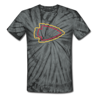 Teams | Arrowhead Magic Tie Dye Tee - spider black