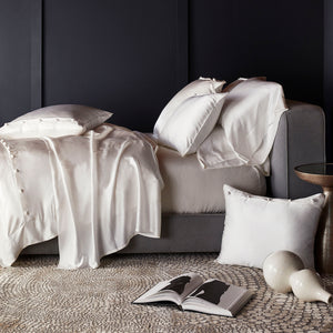 Charmeuse Sham With French Knots