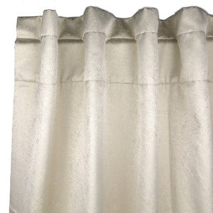 Product with title Imprint Curtain Panel - Pearl