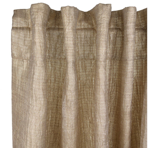 Product with title Sheer Curtain Panel - Gold
