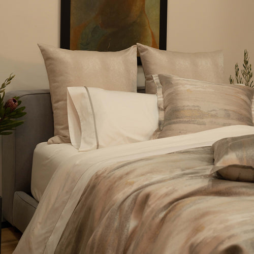 Product with title Horizon Duvet - DVHOK-GLD-SIL DVHOQ-GLD-SIL