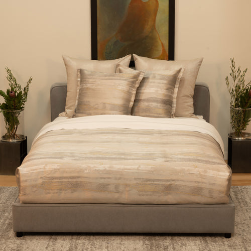 Product with title Horizon Pillow - PWHO3025-GLD-SIL