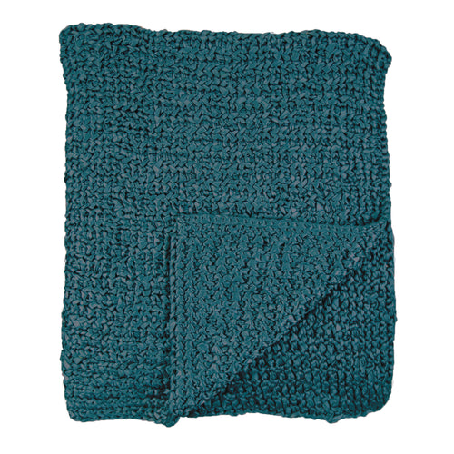 Product with title Knitted Silk Throw - THKS-AZU