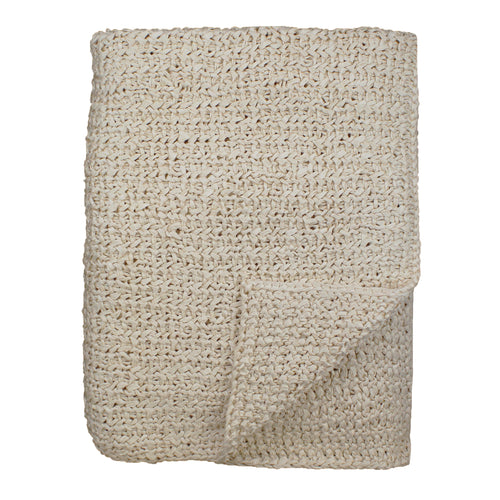 Product with title Knitted Silk Throw - THKS-IVO