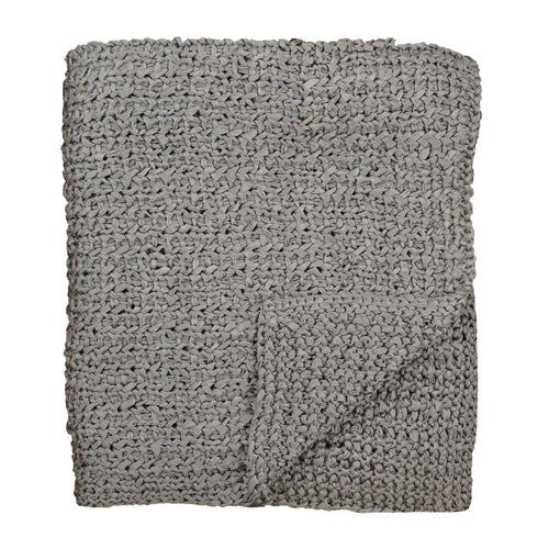 Product with title Knitted Silk Throw - THKS-MET