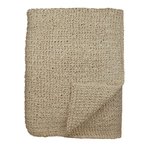 Product with title Knitted Silk Throw - THKS-PUM