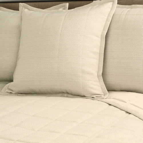 Product with title Texture Coverlet Set - White