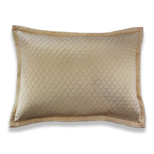 Product with title Charmeuse Quilted Sham - SHCQE-SAN SHCQK-SAN SHCQS-SAN