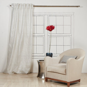 Product with title Sheer-Curtain-Panel-Silver - YCUSH84-SIL
