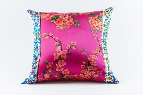Product with title Cherry Silk Pillow - PWCY2222-PIN