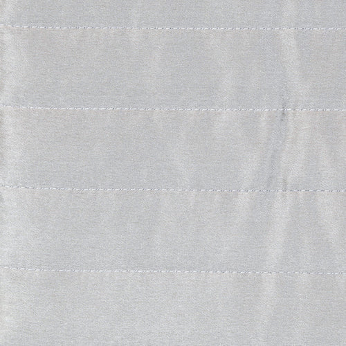 Product with title Charmeuse Channel Quilt Sham SHNQS-SIL SHNQK-SIL