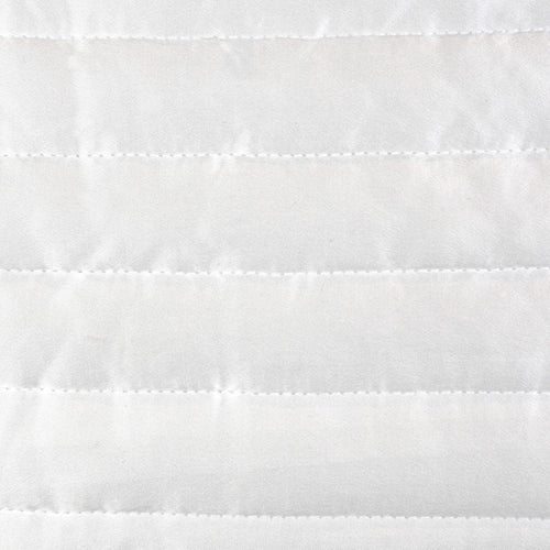 Product with title Charmeuse Channel Quilt Sham SHNQS-WHI SHNQK-WHI