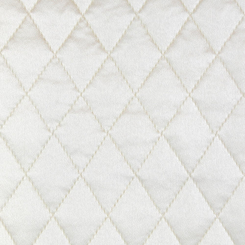Product with title Charmeuse Quilted Sham SHCQE-IVO SHCQK-IVO SHCQS-IVO