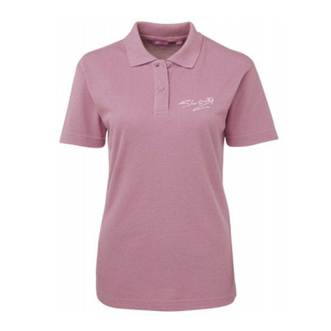 Signature Ladies Pink Polo Shirt
