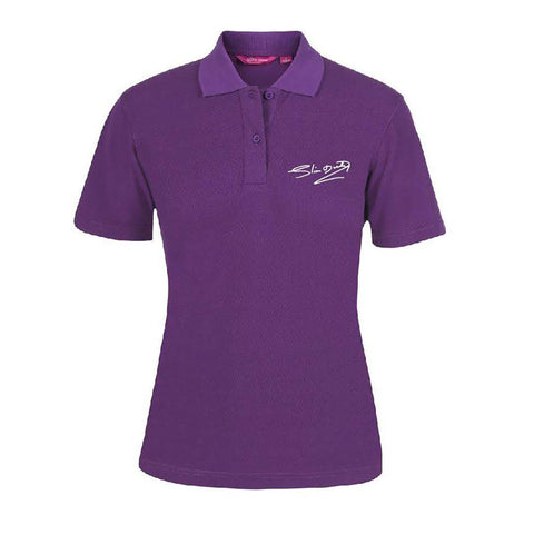 Signature Ladies Purple Polo Shirt