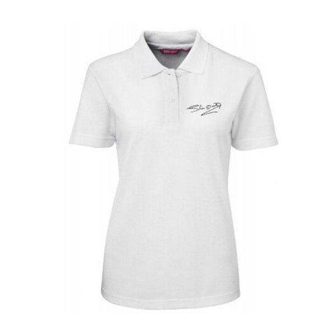 Signature Ladies White Polo Shirt